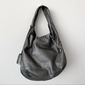 Loewe Metallic Calfskin Handbag with Tassel